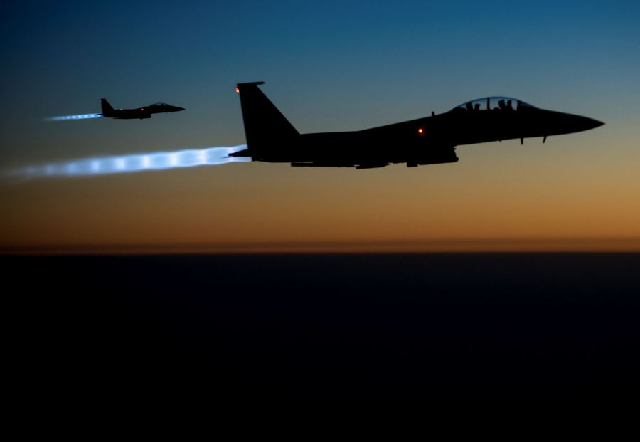 U.S. Steps Up Its Attacks onISIS